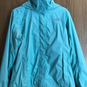 The North Face Jacket Size Large Mint Blue